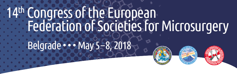 14th Congress of the European Federation of Societies for Microsurgery