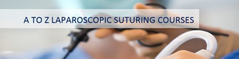 Laparoscopic suturing course